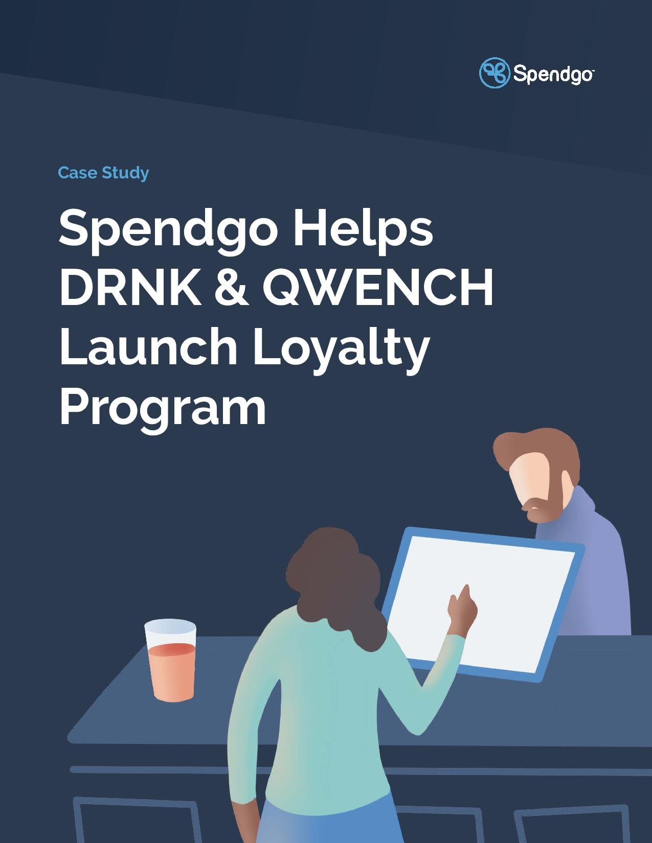 Spendgo Helps DRNK & QWENCH Launch Loyalty Program